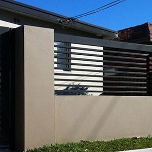 Grade para porta de alumínio